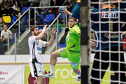 19.11.2016, BSFZ Suedstadt, Maria Enzersdorf, AUT, HLA, SG INSIGNIS Handball WESTWIEN vs HC LINZ AG, Grunddurchgang, 13. Runde, im Bild Philipp Rabenseifer (WestWien) // during Handball League Austria, 13 th round match between SG INSIGNIS Handball WESTWIEN and HC LINZ AG at the BSFZ Suedstadt, Maria Enzersdorf, Austria on 2016/11/19, EXPA Pictures © 2016, PhotoCredit: EXPA/ Sebastian Pucher