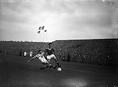 1957 - European Cup tie: Shamrock Rovers v Manchester United at Dalymount Park