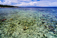 Indonesia, Sulawesi, Bunaken. A very rich coral ecosystem covers most of Bunaken National Park, with about 90 species of fish.