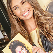 NLD/Amsterdam/20150604 - Boekpresentatie Xelly Cabau van Kasbergen, Xelly met haar boek