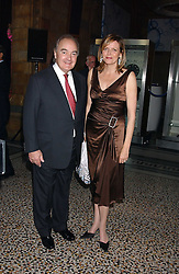 LORD PALUMBO and the COUNTESS OF WOOLTON at the opening party for Diamonds - a new exhibition at The Natural History Museum, London in association with De Beers held on 6th July 2005.<br /><br />NON EXCLUSIVE - WORLD RIGHTS