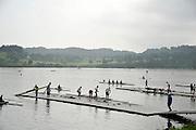 Chungju, South Korea. 2013 FISA World Rowing Championships, General Views of the  Tangeum Lake International Regatta Course. 08:48:25  Saturday  24/08/2013 [Mandatory Credit. Peter Spurrier/Intersport Images]