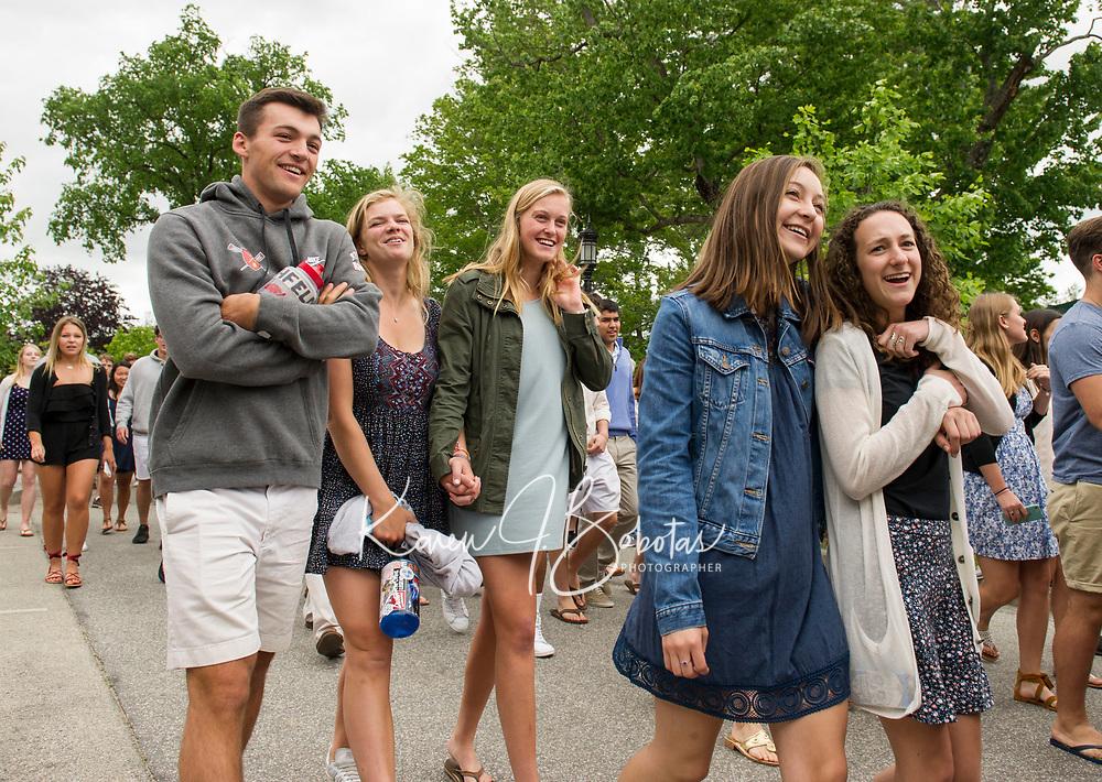 St Paul's School Alumni Weekend - Parade.  ©2017 Karen Bobotas Photographer