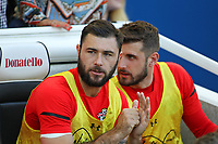 Football - 2018 / 2019 Premier League - Brighton and Hove Albion vs. Southampton<br /> <br /> Southampton's Charlie Austin on the bench at the start of the match at The Amex Stadium Brighton <br /> <br /> COLORSPORT/SHAUN BOGGUST