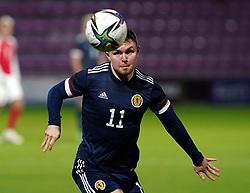 Scotland's Glenn Middleton during the UEFA Under-21 Championship Qualifying Round Group I match at Tynecastle Park, Edinburgh. Picture date: Thursday, October 7, 2021.