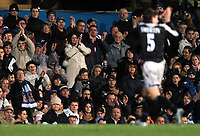 Fotball<br /> Premier League 2004/05<br /> Portsmouth v Chelsea<br /> 28. desember 2004<br /> Foto: Digitalsport<br /> NORWAY ONLY<br /> Alexei Smertin who spent last season on loan at Portsmouth receives warm applause from the home fans as he is substituted
