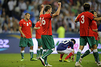 FOOTBALL - UEFA EURO 2012 - QUALIFYING - GROUP D - FRANCE v BELARUS - 3/09/2010 - PHOTO JEAN MARIE HERVIO / DPPI - JOY IGOR SHITOV (BIE)
