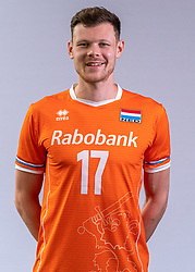 Michael Parkinson of Netherlands, Photoshoot selection of Orange men's volleybal team season 2021on may 11, 2021 in Arnhem, Netherlands (Photo by RHF Agency/Ronald Hoogendoorn)