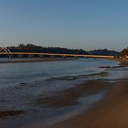 Yaquina Bay Bridge. Newport, Oregon.