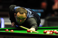 The final, Stephen Maguire of Scotland in action against Stuart Bingham in the final session. Welsh open snooker 2013, Newport centre in Newport, South Wales on Sunday 17th Feb 2013. pic by Andrew Orchard, Andrew Orchard sports photography,
