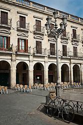 España Square, The main plaza in Vitoria Gasteiz, Spain<br /> <br /> (c) Andrew Wilson | Edinburgh Elite media