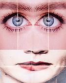 portraits concept collage
