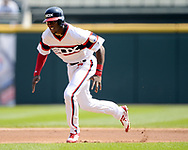 CHICAGO - SEPTEMBER 10:  Tim Anderson #7 of the Chicago White Sox runs the bases against the San Francisco Giants on September 10, 2017 at Guaranteed Rate Field in Chicago, Illinois.  The White Sox defeated the Giants 8-1.  (Photo by Ron Vesely) Subject:   Tim Anderson