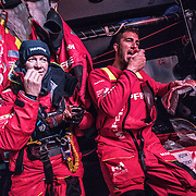 Leg 7 from Auckland to Itajai, day 08 on board MAPFRE. 24 March, 2018.