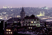 Cityscape of the Turkish city of Istanbul, formerly known as Constantinople and, before that, Byzantium. (Supporting image from the project Hungry Planet: What the World Eats.)