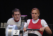 Dresden, GERMANY, Susanne SCHMIDT, competing and the European Indoor Rowing Championships, Margon Arena,  15/12/2007 [Mandatory Credit Peter Spurrier/Intersport Images]