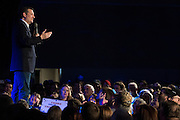Presidential candidate Sen. Ted Cruz speaks during a campaign rally on February 28, 2016 in Oklahoma City, Oklahoma.  (Cooper Neill for The New York Times)