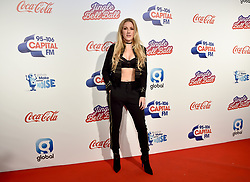 Ellie Goulding during Capital's Jingle Bell Ball with Coca-Cola at London's O2 arena.