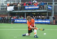 ABCOUDE - VOLVO JUNIOR CUP hockey . Abcoude C1 ,  en Heerhugowaard   strijden in Abcoude om de cup. Heerhugowaard wint met 3-1. De teams werden gesteund door spelers van Jong Oranje. COPYRIGHT KOEN SUYK