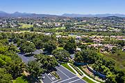 Aerial of an OC Neighborhood