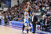 DESCRIZIONE : Campionato 2014/15 Serie A Beko Dinamo Banco di Sardegna Sassari - Upea Capo D'Orlando<br /> GIOCATORE : Sek Henry David Logan<br /> CATEGORIA : Tiro Stoppata<br /> SQUADRA : Upea Capo D'Orlando<br /> EVENTO : LegaBasket Serie A Beko 2014/2015<br /> GARA : Dinamo Banco di Sardegna Sassari - Upea Capo D'Orlando<br /> DATA : 22/03/2015<br /> SPORT : Pallacanestro <br /> AUTORE : Agenzia Ciamillo-Castoria/L.Canu<br /> Galleria : LegaBasket Serie A Beko 2014/2015