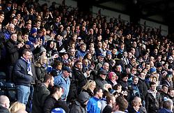 Bristol Rovers fans - Mandatory byline: Robbie Stephenson/JMP - 27/02/2016 - FOOTBALL - Adams Park - Wycombe, England - Wycombe Wanderers v Bristol Rovers - Sky Bet League Two