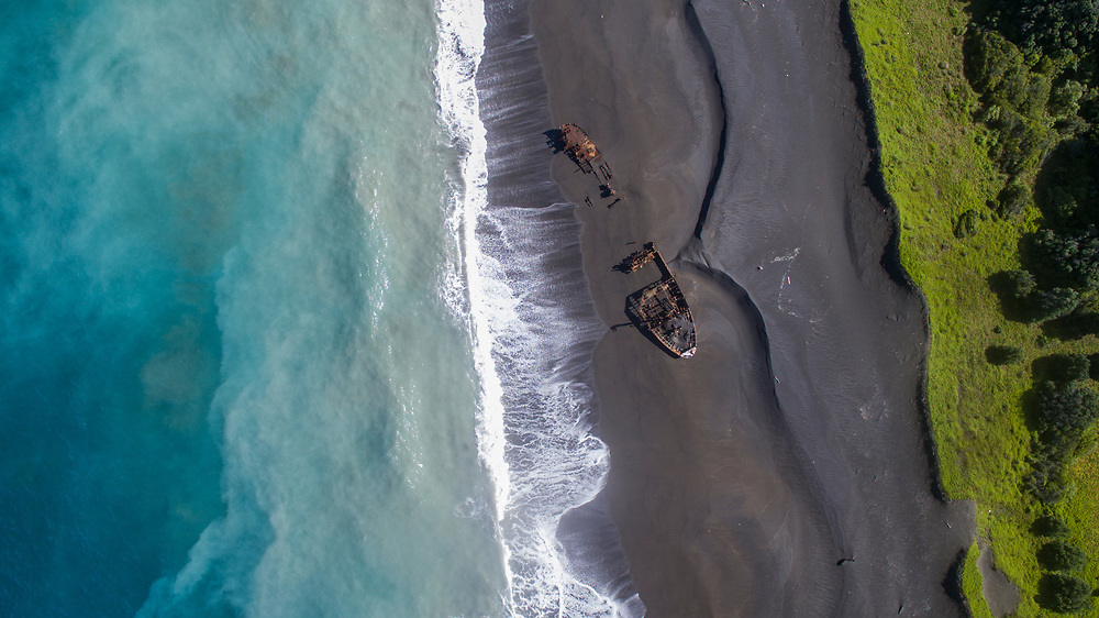 Denham Bay, Raoul Island, Kermadec Islands