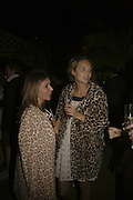 Vassi Chamberlain and Jessica Brinton,  Quintessentially Summer party, Debenham House. Addison Rd. London. 15 June 2006. ONE TIME USE ONLY - DO NOT ARCHIVE  © Copyright Photograph by Dafydd Jones 66 Stockwell Park Rd. London SW9 0DA Tel 020 7733 0108 www.dafjones.com