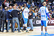 DESCRIZIONE : Eurolega Euroleague 2014/15 Gir.A Real Madrid - Dinamo Banco di Sardegna Sassari<br /> GIOCATORE : Rakim Sanders<br /> CATEGORIA : Before<br /> SQUADRA : Dinamo Banco di Sardegna Sassari<br /> EVENTO : Eurolega Euroleague 2014/2015<br /> GARA : Real Madrid - Dinamo Banco di Sardegna Sassari<br /> DATA : 05/11/2014<br /> SPORT : Pallacanestro <br /> AUTORE : Agenzia Ciamillo-Castoria / Luigi Canu<br /> Galleria : Eurolega Euroleague 2014/2015<br /> Fotonotizia : Eurolega Euroleague 2014/15 Gir.A Real Madrid - Dinamo Banco di Sardegna Sassari<br /> Predefinita :