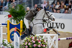 CARRASCO Rodrigo (CHI), Acapulco FZ<br /> Göteborg - Gothenburg Horse Show 2019 <br /> Longines FEI World Cup™ Final I<br /> Int. jumping competition - speed and handiness<br /> Longines FEI Jumping World Cup™ Final and FEI Dressage World Cup™ Final<br /> 04. April 2019<br /> © www.sportfotos-lafrentz.de/Stefan Lafrentz