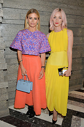 Left to right, LAURA BAILEY and PORTIA FREEMAN at the opening of Roksanda - the new Mayfair Store for designer Roksanda Ilincic at 9 Mount Street, London on 10th June 2014.
