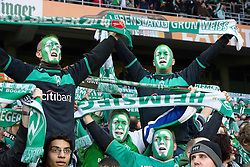 12.03.2011, Weserstadion, Bremen, GER, 1.FBL, Werder Bremen vs Borussia Moenchengladbach, im Bild  Fans sind guter Hoffnung, Heimsieg   EXPA Pictures © 2011, PhotoCredit: EXPA/ nph/  Kokenge       ****** out of GER / SWE / CRO  / BEL ******