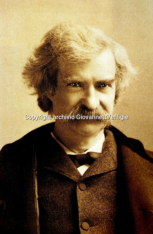 Mark Twain<br />archivio Giovannetti/effigie