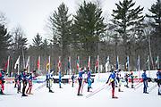 Competitors VERB during the 2021 Birkebeiner International Ski Race in Hayward, Wisconsin, on Saturday, Feb. 27, 2021.