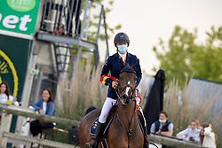 Vandousselaere Paris, BEL, Joske F<br /> Belgisch Kampioenschap Jeugd Azelhof - Lier 2020<br /> © Hippo Foto - Dirk Caremans<br /> 02/08/2020