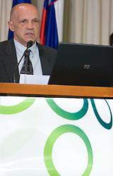 Matjaz Jakopic at Management conference of Slovenian Football Federation, on March 10, 2009, in Hotel Kokra, Brdo pri Kranju, Slovenia. (Photo by Vid Ponikvar / Sportida)