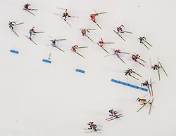 March 16, 2019 - –Stersund, Sweden - 190316 Skiers compete in the Women's 4x6 km Relay during the IBU World Championships Biathlon on March 16, 2019 in Östersund..Photo: Petter Arvidson / BILDBYRÃ…N / kod PA / 92268 (Credit Image: © Petter Arvidson/Bildbyran via ZUMA Press)