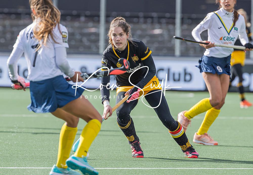 AMSTELVEEN - Marloes Keetels (DenBosch)   tijdens  de Euro Hockey League finale dames, HC Den Bosch-Club Campo de Madrid (5-0).  COPYRIGHT KOEN SUYK