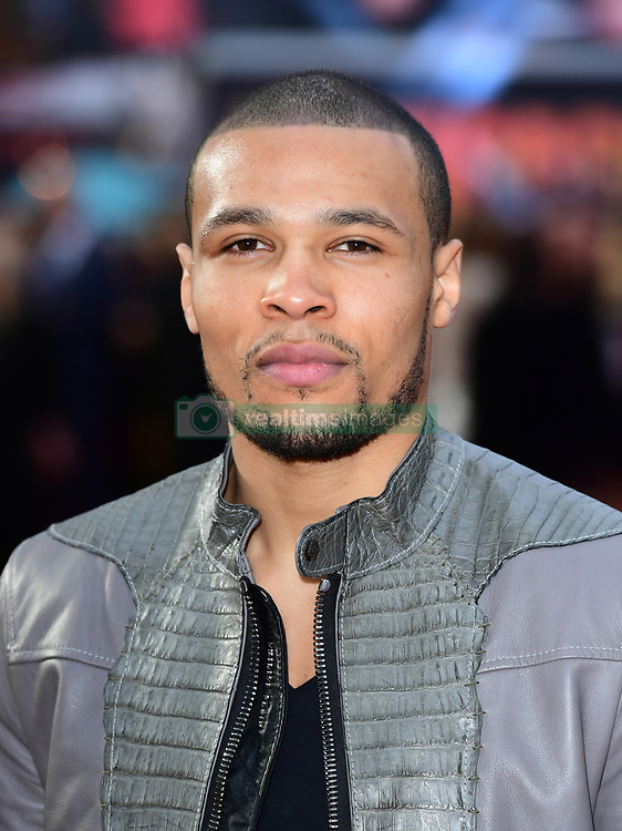 Chris Eubank Junior attending the European premiere of Rampage, held at the Cineworld in Leicester Square, London