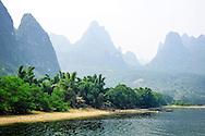 Landscape of the Lijang river.