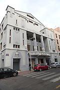Monumental cinema 1930s Art Deco style Melilla, Spanish territory in north Africa, Spain architect Lorenzo Ros Costa
