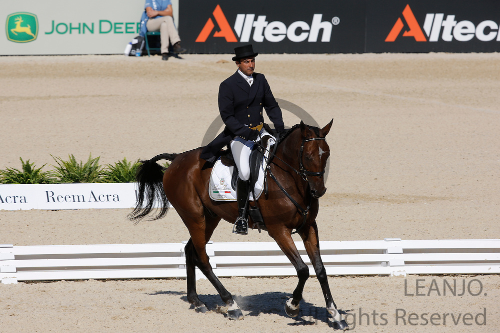 Juan Carlos Garcia - Iman du Golfe<br /> Alltech FEI World Equestrian Games <br /> Lexington - Kentucky 2010<br /> © DigiShots
