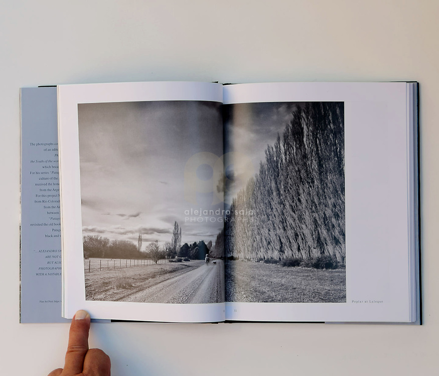 Patagonia Unknown (pag 30-31), book published in conjunction with the Photography Exhibition in 2019 - at Art Gallerie- Consulate General of Argentina- in New York, USA. Photographs by by Alejandro Sala