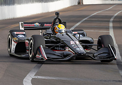 March 10, 2019 - St. Petersburg, FL, U.S. - ST. PETERSBURG, FL - MARCH 10: Ed Carpenter Racing driver Spencer Pigot (21) of United Statesduring the IndyCar Series - Firestone Grand Prix Race on March 10 in St. Petersburg, FL. (Photo by Andrew Bershaw/Icon Sportswire) (Credit Image: © Andrew Bershaw/Icon SMI via ZUMA Press)