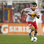 Tim Cahill, New York Red Bulls, in action during the New York Red Bulls V Houston Dynamo , Major League Soccer second leg of the Eastern Conference Semifinals match at Red Bull Arena, Harrison, New Jersey. USA. 6th November 2013. Photo Tim Clayton