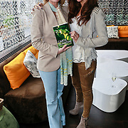 NLD/Amsterdam/20110315 - Boekpresentatie Esther Kreukniet, Esther Kreukniet en Quinty Trustfull - van den Broek