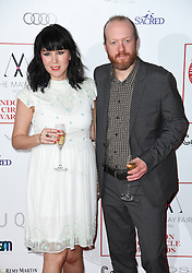 Alice Lowe and Steve Oram arriving at the London Film Critics Circle Awards 2017, the May Fair Hotel, London.<br /> <br /> Photo credit should read: Doug Peters/EMPICS Entertainment