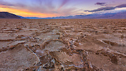 Salt Flats of Badwater at Death Valley National Park