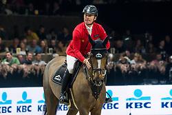 Schwizer Pius, SUI, Cortney Cox<br /> Jumping Mechelen 2019<br /> © Hippo Foto - Sharon Vandeput<br /> 30/12/19
