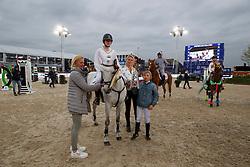 Winner competion<br /> Ponies Knock-out<br /> Jumping Antwerpen 2017<br /> © Hippo Foto - Dirk Caremans<br /> 21/04/2017